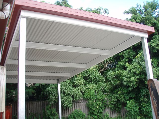Shedme wood sheds brisbane for Free standing carport plans