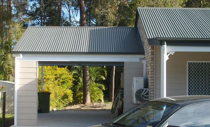 Brisbane carports local business specialising in for Gable roof garage