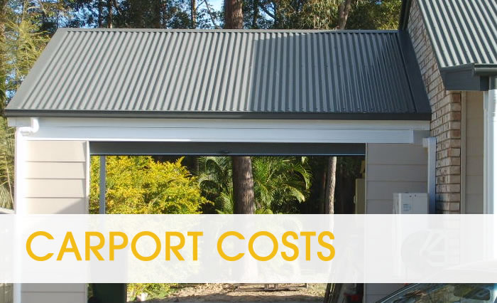 price guide for building carports in brisbane
